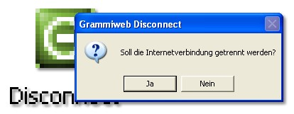 Screenshot für Grammiweb Disconnect