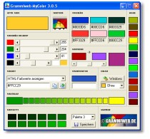 Screenshot für Grammiweb MyColor